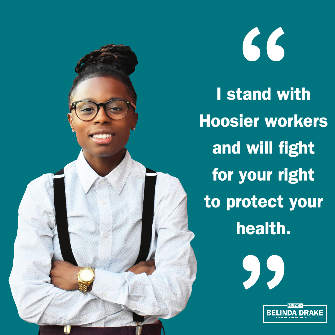 Belinda Drake's Statement to Protect Hoosier Worker's Health